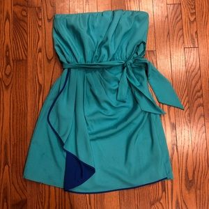 Express strapless party dress size 10